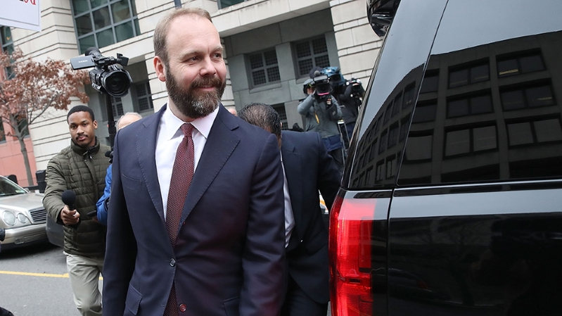 Mueller focus shifts to Rick Gates