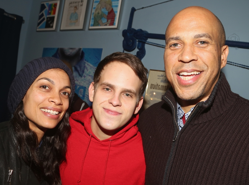 Rosario Dawson confirms she's dating presidential hopeful Cory Booker