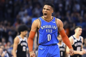 Westbrook's triple-double leads Thunder past Nets