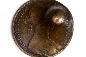 Coin that saved World War I soldier's life to be sold