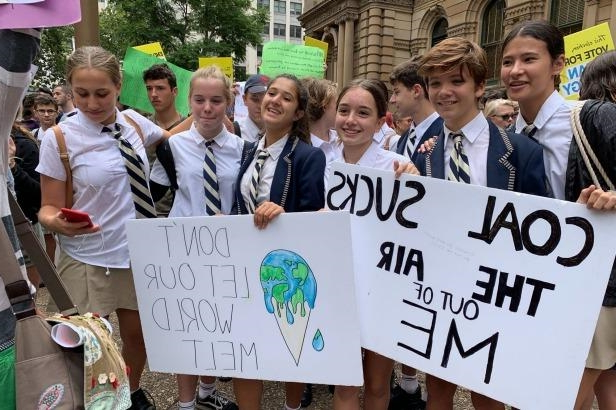 'I can't go to school, I have to save the planet'