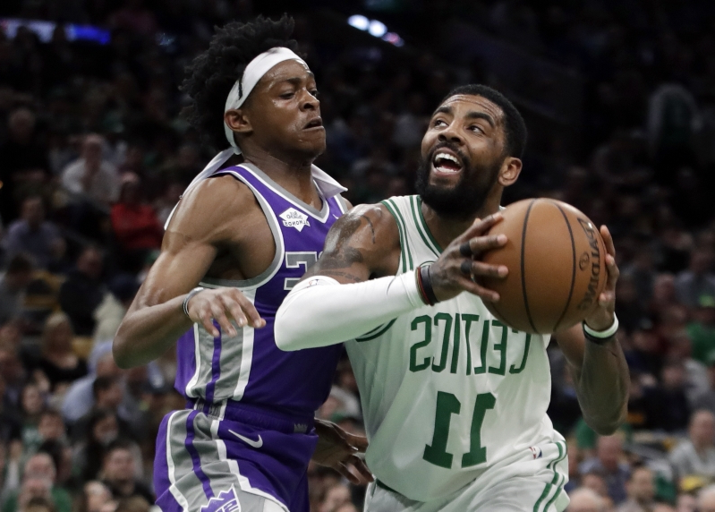 Irving has triple-double, Celtics beat Kings 126-120
