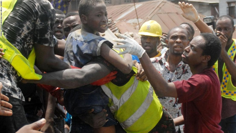 Lagos building collapse: 20 people, mostly children killed in collapsed building