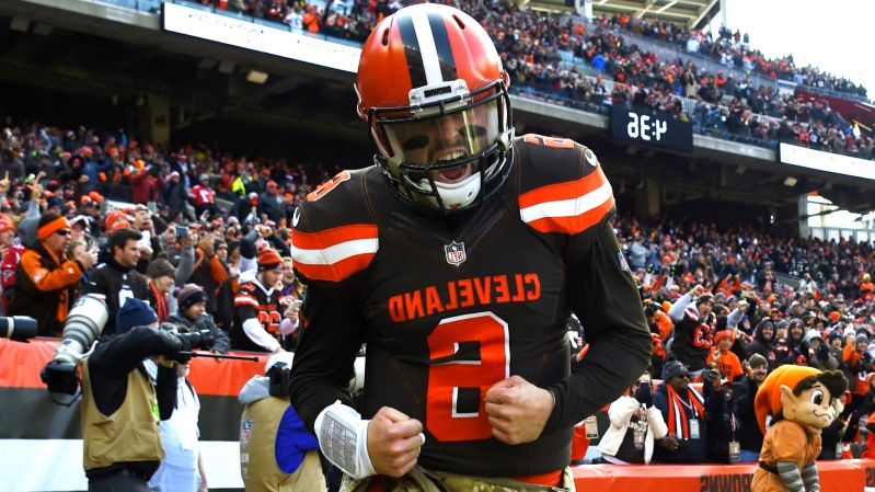 Odell Beckham Jr., Baker Mayfield make Browns must-see TV for NFL's broadcast partners