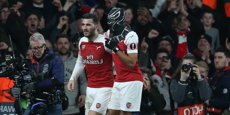 Pierre-Emerick Aubameyang mask celebration reasons revealed after Rennes win
