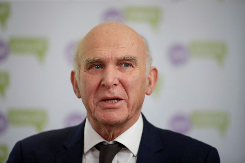 Vince Cable to STEP DOWN as Liberal Democrat leader in May despite saying he'd stay on until the UK leaves the EU, which he says may 'never happen'