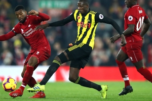 Wijnaldum claims he is relaxed about a new contract with Liverpool