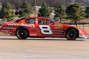 A bunch of Dale Earnhardt and Dale Jr. cars are being auctioned, but are they legit?