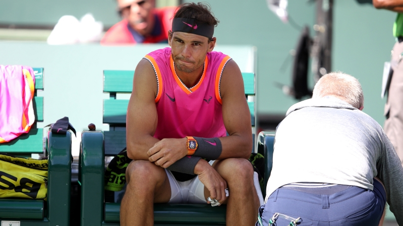 0e279e09 Indian Wells: Rafael Nadal worried about knee ahead of Roger Federer  blockbuster