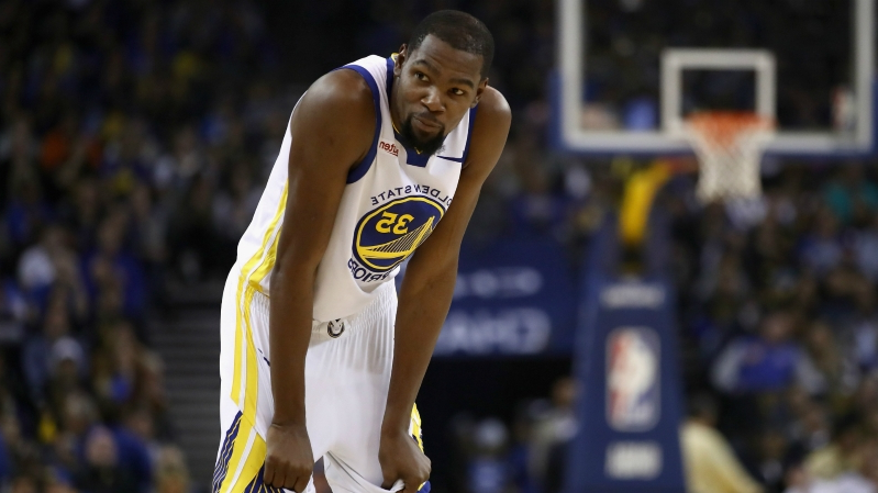 Kevin Durant injury update: Warriors star (ankle) out vs. Thunder