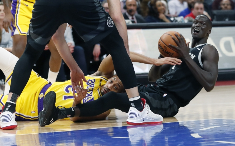 finest selection 346f9 8cb02 Pistons handle LeBron-less Lakers 111-97 © The Associated Press Los Angeles  ...