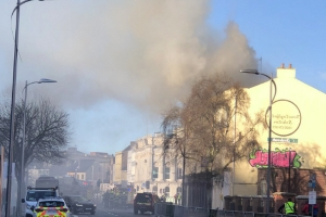 Emergency services bring blaze in Co Cork 'under control'