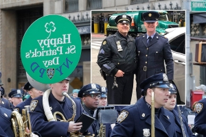 Irish garda reunites with American cop cousin in New York after 40 years apart