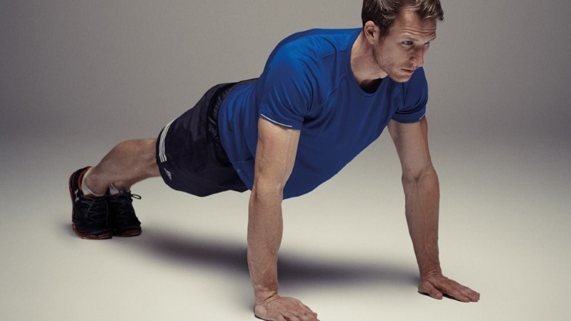 Health & Fitness: The 10-Minute Push-Up Challenge
