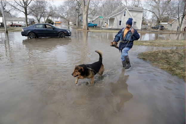 US: Nebraska underwater: 74 cities, 65 counties declare