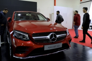 Facelifted 2019 Mercedes GLC Coupe revealed