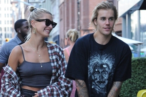 Justin and Hailey Bieber Share Intimate Moment During Park Outing -- See the Pic!