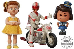 Toy Story 4: Meet three new (yet vintage!) characters
