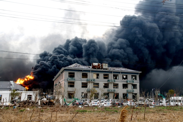 China probes factory blast as death toll rises to 47
