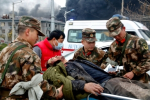Death toll in China chemical plant blast rises to 12