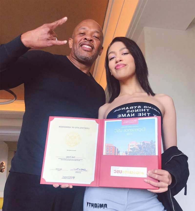 Dr. Dre removes Instagram boasting about daughter's USC admittance