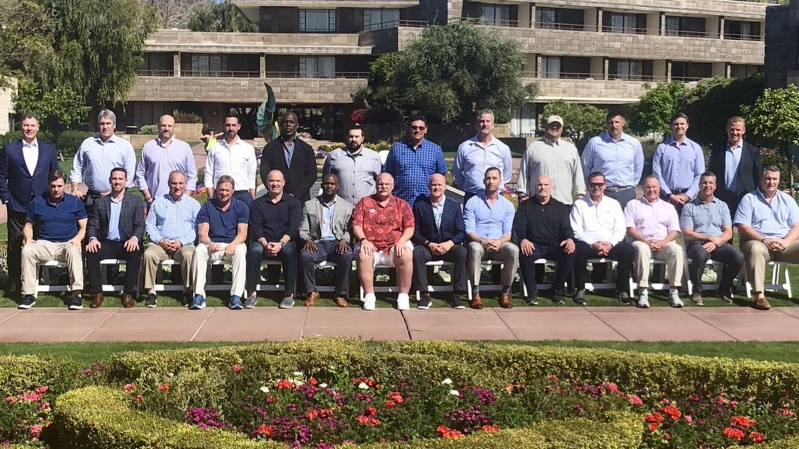 4905e44020d98 Sport  6 best things about 2019 version of annual NFL coaches photo ...