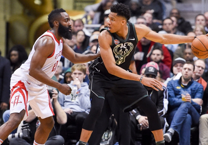016e0a4d8b0 Giannis Antetokounmpo or James Harden  NBA MVP race is far from decided