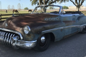 Icon's LS7-Powered 1950 Buick Roadmaster Convertible Is for Sale on eBay