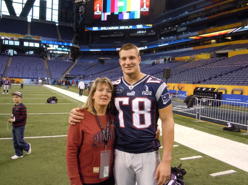 Sport Rob Gronkowski S Mother Talks About Her Most Famous