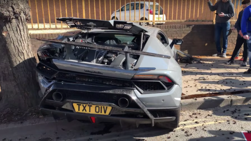 Ownership This Lamborghini Crash Everyone S Talking About Is