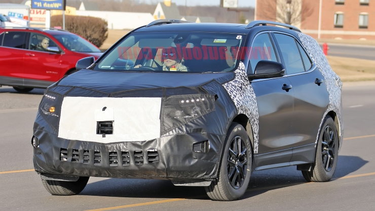 2020 Chevrolet Equinox Rumors, Colors, Review, And Price >> Reviews 2020 Chevrolet Equinox Spied With Quad Exhaust And New