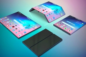 Samsung is working on a new foldable smartphone that's nothing like the Galaxy Fold