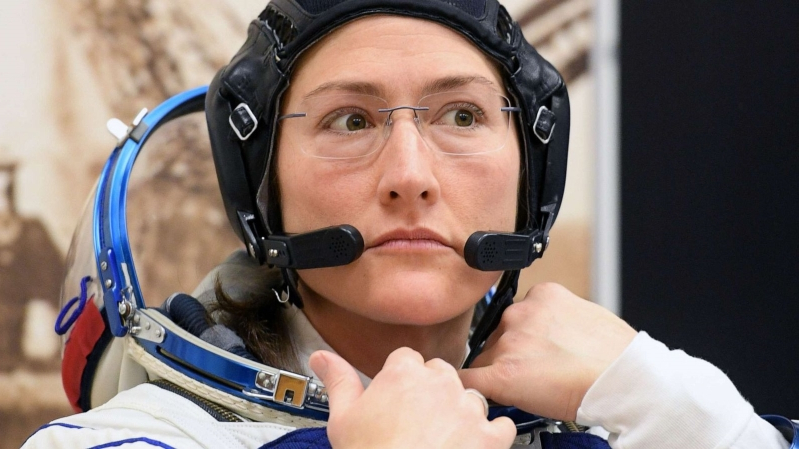 America's 1st woman astronaut to walk in space talks NASA spacesuit sizing