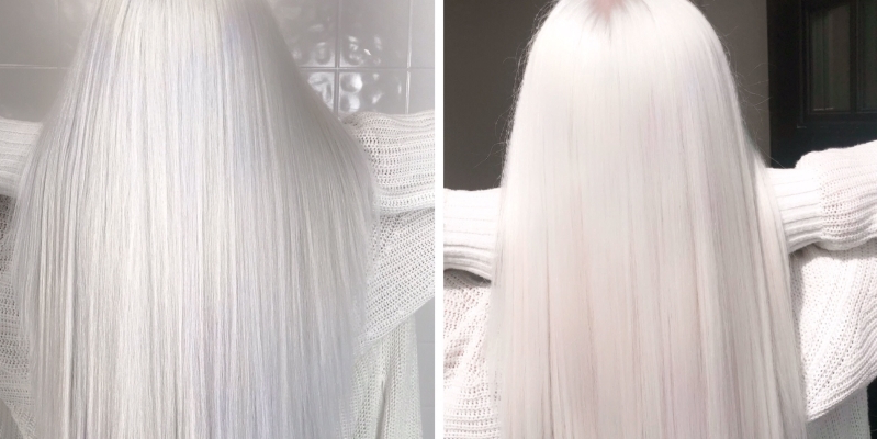 Nordic White Hair Color Is Trending on Instagram, and We're Here For It
