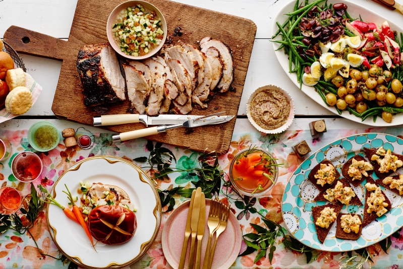 Admirable Food Drink Our Best Easter Menu Ideas Pressfrom Canada Home Remodeling Inspirations Basidirectenergyitoicom