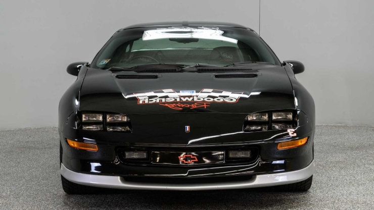 This One Of Six Earnhardt Signature Camaros Is A Rare Find