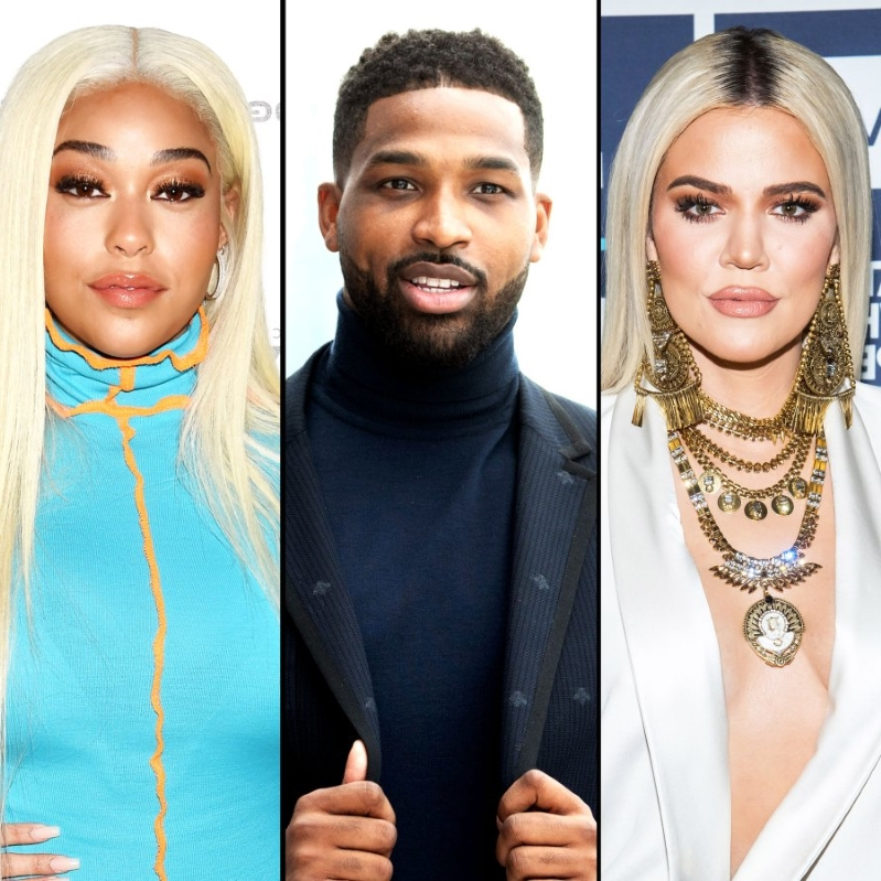 Khloe Kardashian Is 'Happy' Tristan and Jordyn Drama Is 'Behind Her'