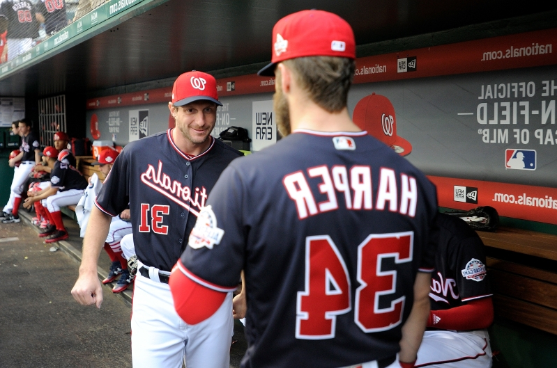 44120d2e1 Nationals will welcome back Bryce Harper back to D.C. by making him face  Max Scherzer