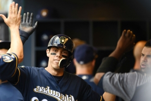 Brewers' Christian Yelich's home run in 4th straight game ties record