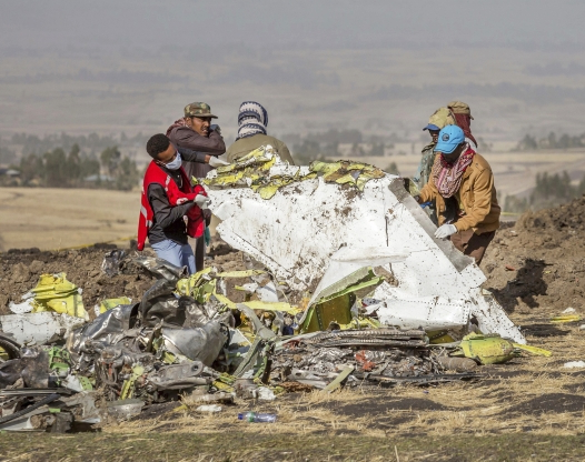 World: Final moments of Ethiopian Airlines Boeing 737 Max
