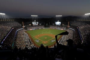 Man hospitalized with 'serious' injuries after post-game fight at Dodger Stadium