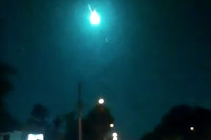 US: Green meteor lights up sky in Florida, Georgia