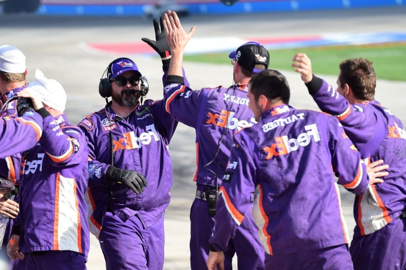 NASCAR America: How crew chief's gamble propelled Hamlin to Texas win
