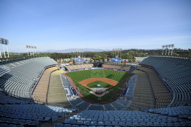 Police hunt assailant after beating outside Dodger Stadium