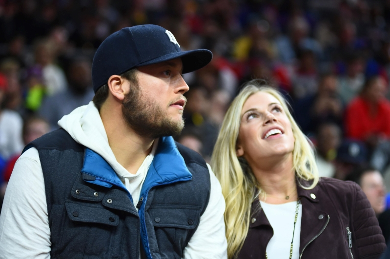 Sport Kelly Stafford Detroit Lions Qb Matthew Staffords Wife Has