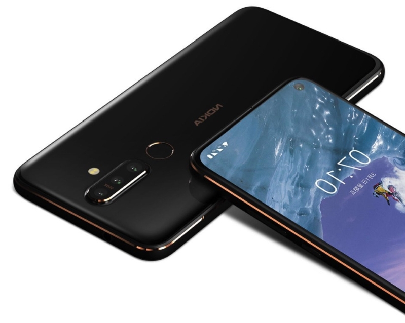 Nokia's new X71 has a stellar design that rivals that of the Galaxy S10