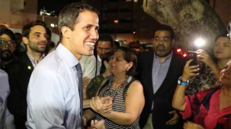 Venezuela's Guaidó: Nothing will stop us
