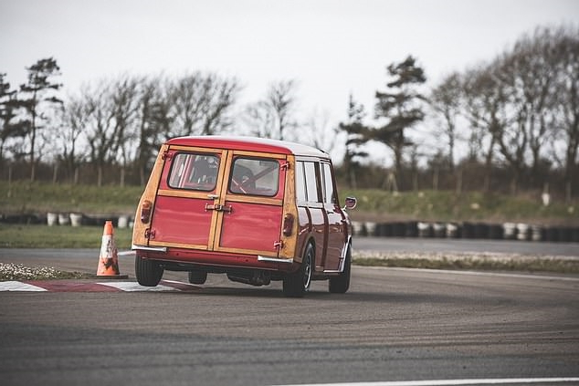 From rotting shell to racer in four months: The 1964 Mini Countryman from the scrapheap that's transformed into a classic competition car packing more performance than a Golf GTI