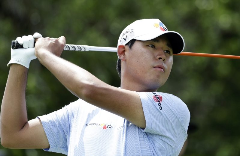 Kim leads by 1 after 1st round at Valero Texas Open