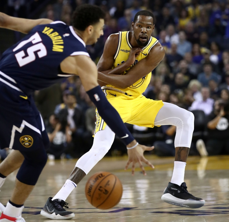 772597055fc Scary thought  Has Kevin Durant at last fully embraced Warriors ball